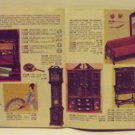 Lynne's Miniature Treasures Catalog 1981 Dollhouses