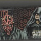 Star Wars Episode I Jedi vs Sith Pencil Box Tin Stickers