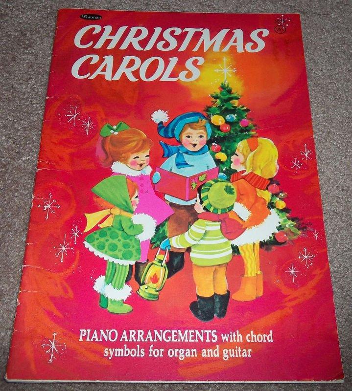 CHRISTMAS CAROLS Piano Arrangements Whitman 1942