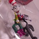 6 ENESCO DR SEUSS CAT IN THE HAT ORNAMENTS 1997
