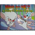 Who Are We? A Pinky and the Brain Pop-Up Book 1997