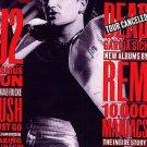 Rolling Stone Magazine 640 Ocotober 1992 U2 BONO