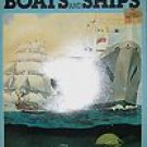 How and Why Wonder Book of Boats and Ships 1973