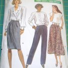 Vogue 7677 Skirt Pants Misses 20 22 24 1989