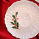 SCIO Japan Holly Swirl Scalloped Cup Saucers