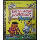 Bert's HALL of GREAT INVENTIONS Little Golden Book 321 1972
