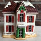 Lefton Colonial Village Lighted House 05818 1986