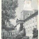 Hamilton Hall U. S. Guard Academy Postcard Vintage