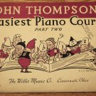 John Thompson's Easiest Piano Course Part Two 1955