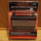 Auto Tech AM FM Car Radio Stereo Cassette NIB