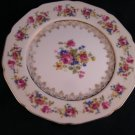 "Gold Castle Hostess Salad Plates Set of Four 7 1/4""  Japan 1940"