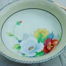 NORITAKE LUSTRE POPPY BOWL HANDPAINTED JAPAN 1940