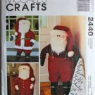 McCall's Crafts 2440 SANTA DOOR GREETERE DOLL Pattern OOP