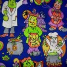 FRANKENSTEIN GHOULIES HALLOWEEN FABRIC