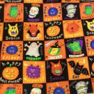 DRACULA MUMMY WEREWOLF MONSTER HALLOWEEN FABRIC