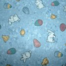 Easter Bunny Eggs Teresa Kogut Bears 'n Hares MM Fabric