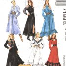 McCall's 7188 Western Dress Misses 8-12 1994