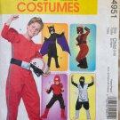 McCall's 4951 Superhero Batman Ninja Costumes 3-4-5-6 OOP