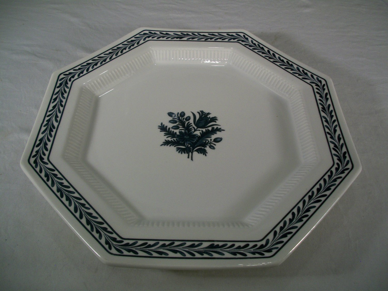 Castleton China 1776 Independence Ironestone Dinner Plate Cobalt