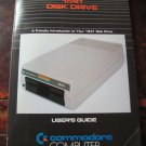COMMODORE COMPUTER 1541 DISK DRIVE USER'S GUIDE 1982