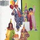 Butterick, 6302 A Clown Costumes Childrens Boys Girls S-XL