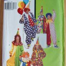 Butterick 6302 B CLOWN COSTUMES Men Women S-M-L
