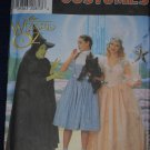 Simplicity 7808 WIZARD OF OZ DOROTHY GLINDA WITCH COSTUMES 12-16 OOP