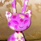 "NEOPETS ANIMATED PINK YELLOW AISHA CAT 12"" 2003"