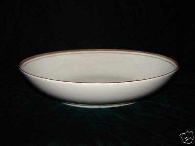 ROYALTON CHINA GOLDEN ELEGANCE Oval Vegetable Bowl
