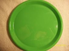 MELMAC COLOR FLYTE BRANCHELL GREEN BREAD BUTTER PLATES Set 6