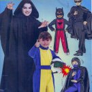 McCall's MP319 HERO COSTUMES BATMAN ZORRO RACER Boys 7-14