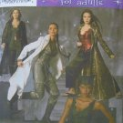 Simplicity 4962 CATWOMAN SORCERESS COSTUMES 6-8-10--12