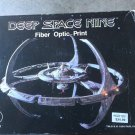 DEEP SPACE NINE FIBER OPTIC PRINT 1994 NIB