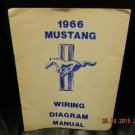 1966 Mustang Wiring Diagram Shop Illustration Manual