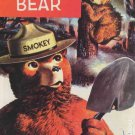SMOKEY BEAR COMIC + SMOKEY BEAR POSTCARD