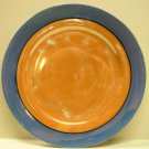 BLUE PEACH LUSTER DESSERT SALAD PLATES Set 3