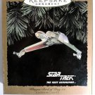 1994 HALLMARK STAR TREK KILINGON BIRD OF PREY ORNAMENT NIB
