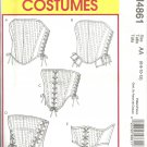 McCall's 4861 BONED CORSETS 5 Styles Misses 6-8-10-12 OOP