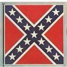 CONFEDERATE BATTLE FLAG CIVIL WAR CENTENNIAL POSTCARD