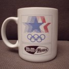 LOS ANGELES OLYMPIC M & M MARS COFFEE MUG