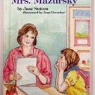 NOT EVEN MRS. MAZURSKY Jane Sutton 1986
