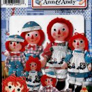Simplicity 9447 RAGGEDY ANN & ANDY Dolls Clothes OOP