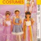 McCall's 2976 BALLERINA FAIRY PRINCESS COSTUMES 3-4-5