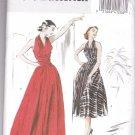 Butterick 4919 Retro '52 Halter Dress Misses 14-16-18-20 OOP