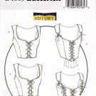 Butterick 4669 LACE-UP CORSET Four Styles 14-16-18-20