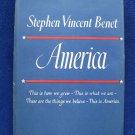 Stephen Vincent Benet AMERICA 1944