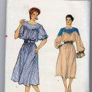 Vogue 8596 Pullover A-Line Dress Misses 14 OOP