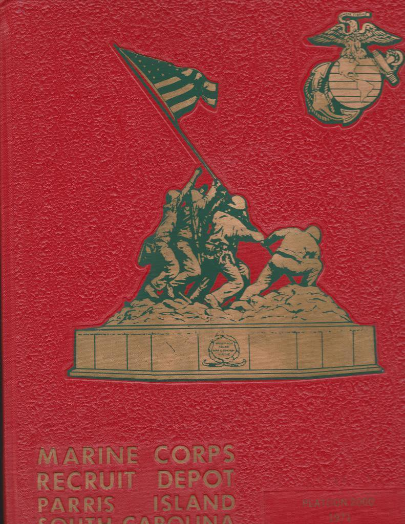 Marine Corps Recruit Depot Parris Island 3036-3039 1985