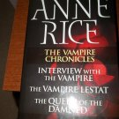 Anne Rice The Vampire Chronicles 2003 Books 1-3 One Book