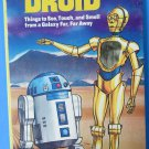 STAR WARS SHINY AS A DROID C-3PO R2-D2 Virginia Holt 1986